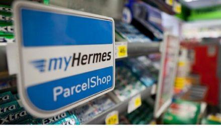 Hermes invests over  £1 million on new ParcelShop branding