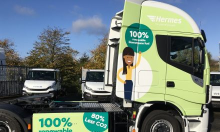 Hermes invests in more CNG vehicles