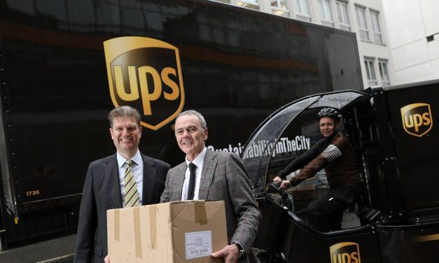"UPS to ""deliver a more sustainable future for Dublin"""