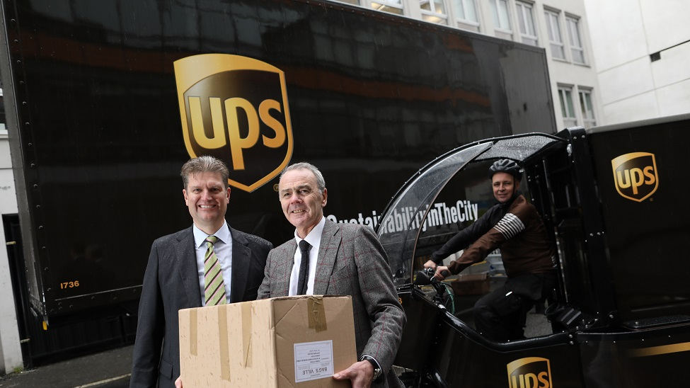 """UPS to """"deliver a more sustainable future for Dublin"""""""