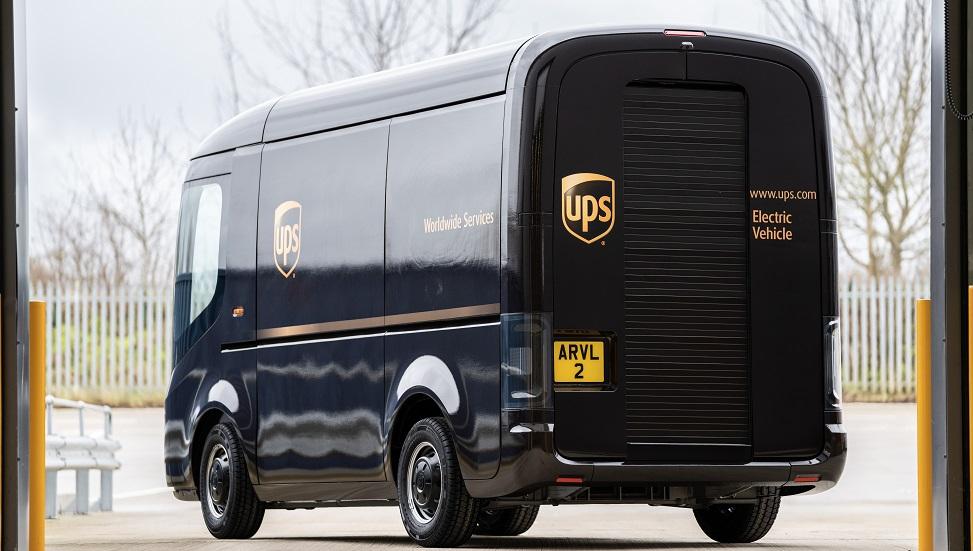 UPS accelerates fleet electrification