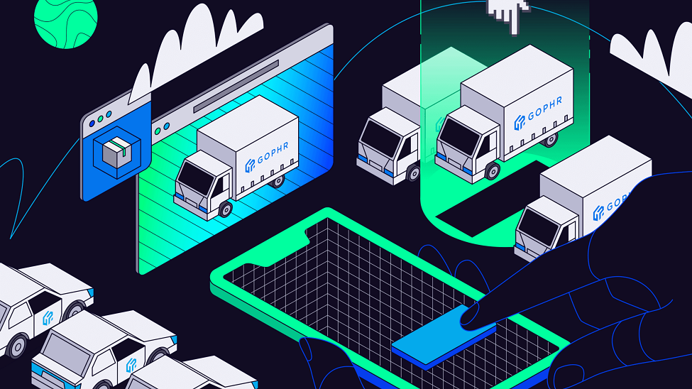 Gophr: creating a platform that enables each courier to perform 'better'