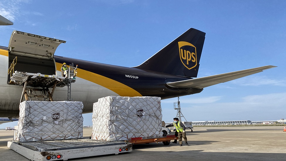 UPS: ramping up around-the-clock operations to provide PPE
