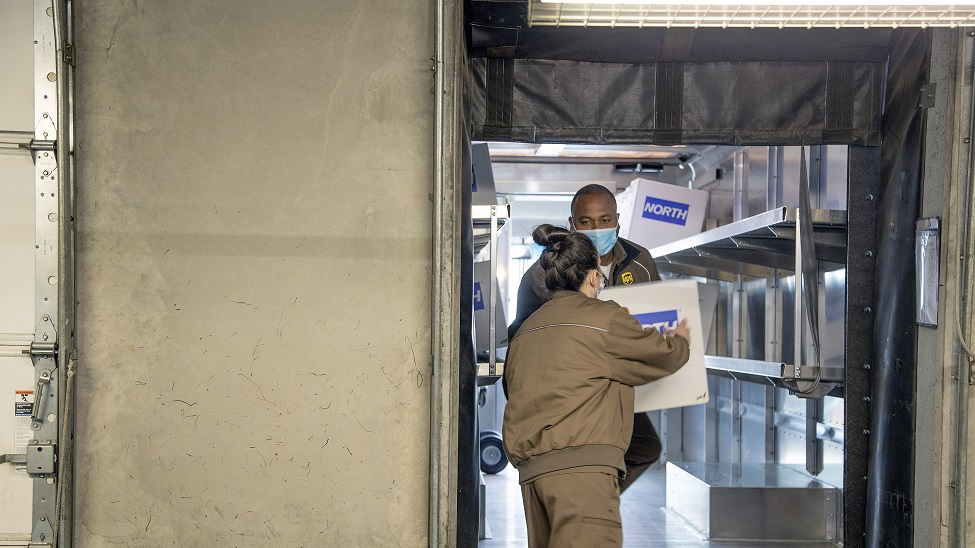 UPS helps doctors and nurses on the front line