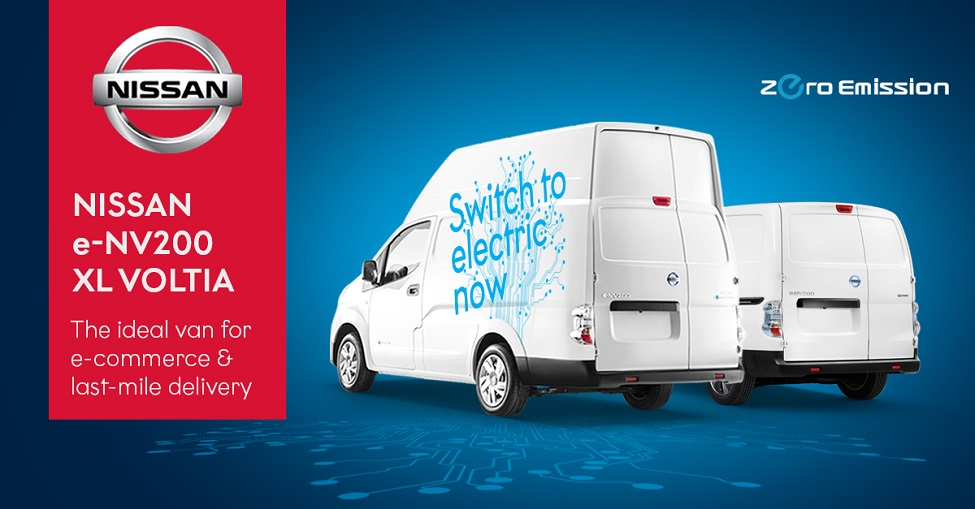 Nissan shows its commitment to sustainable last-mile delivery
