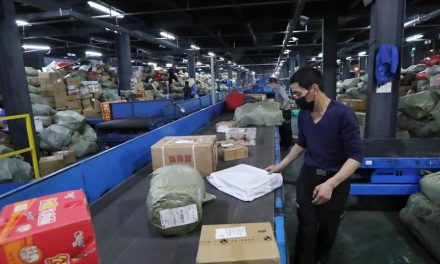 China's postal industry reports 14% increase in volume
