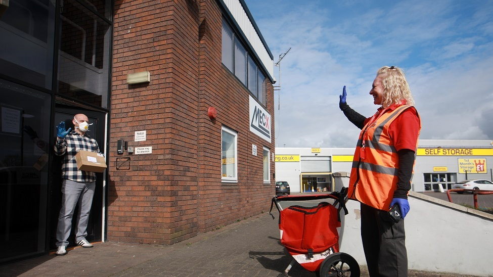 Britain's couriers prepare once more for the front door to become the front line
