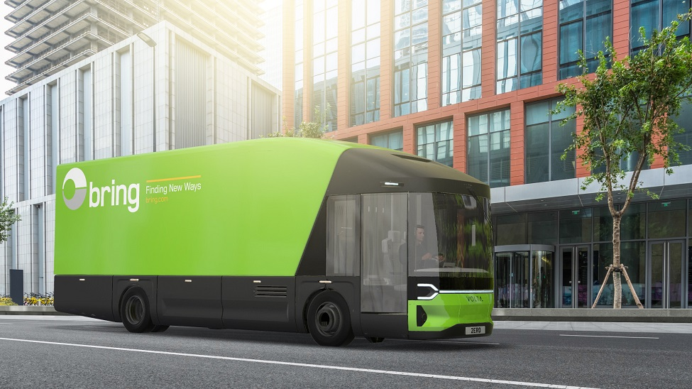 Fully electric, zero-emission truck selected by Bring and Posten