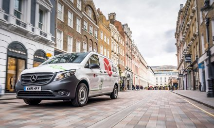 Over 10% of DPD's UK van fleet is now electric