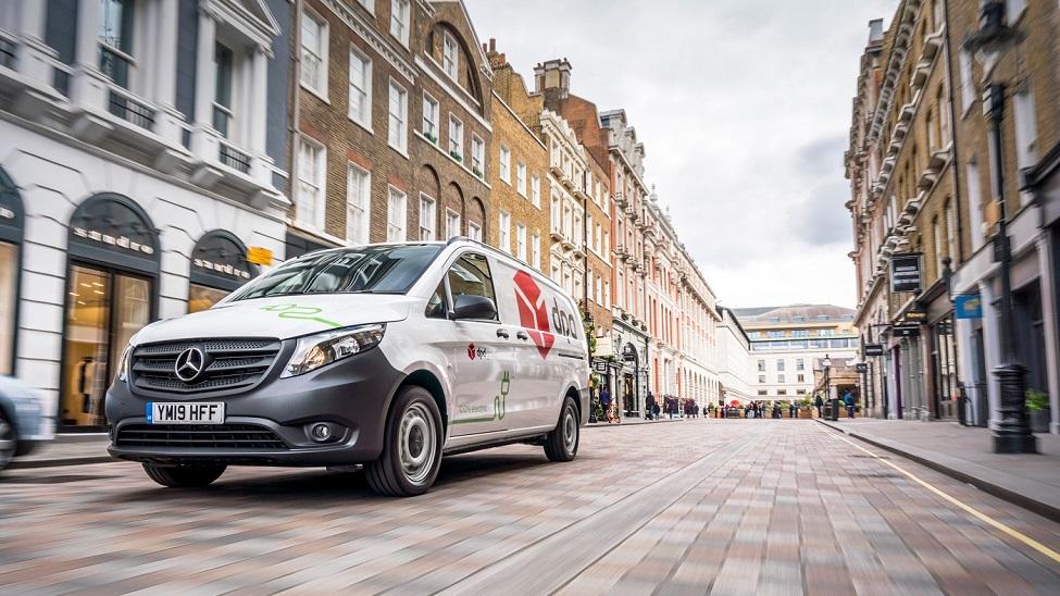 Over 10% of DPD's UK van fleet is now electric