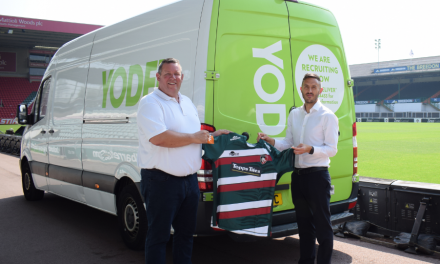 Leicester Tigers and Yodel team up to deliver club merchandise to fans