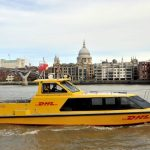 "DHL Express to use a ""currently untapped access route into London"""