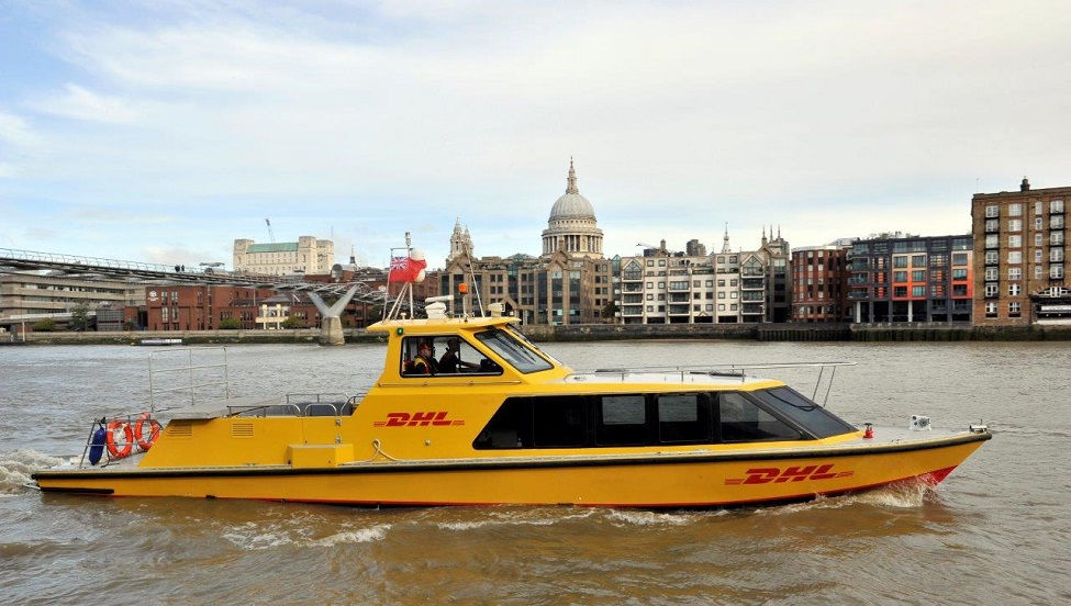 """DHL Express to use a """"currently untapped access route into London"""""""