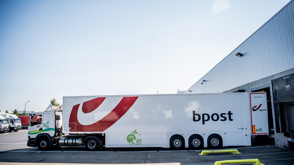 bpost confirms its more environmentally friendly transport ambitions