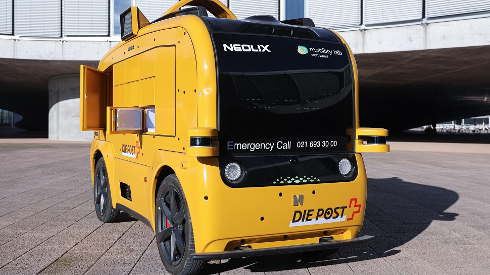 Swiss Post involved in pilot of autonomous vehicle meal deliveries