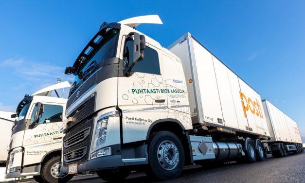 Posti invests in biogas-powered trucks