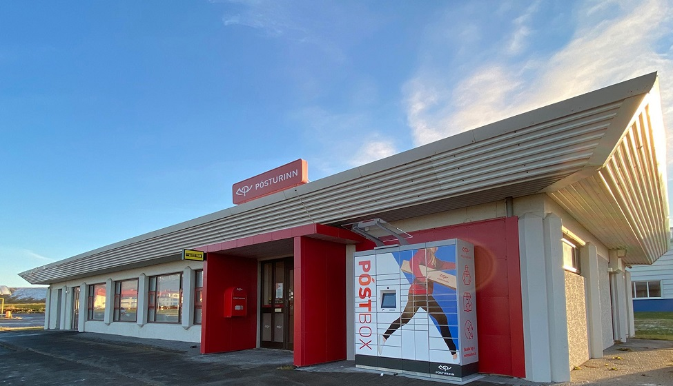 Iceland Post reduces its carbon footprint with the help of parcel locker network