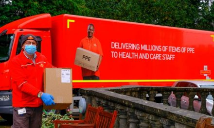 Royal Mail: Delivering millions of items of PPE to health and care staff