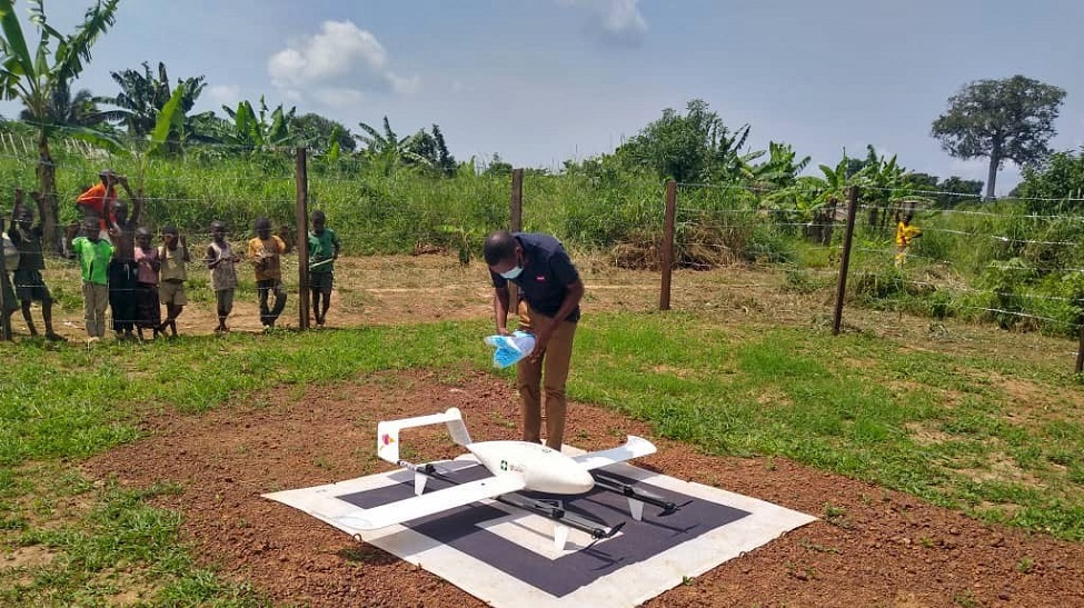 Democratic Republic of Congo: drone delivery programme ensures fast transport of lifesaving vaccines
