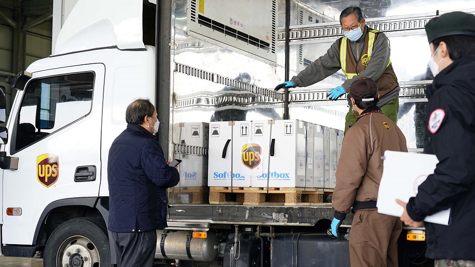 """UPS to help Asia Pacific """"stamp out this pandemic"""""""