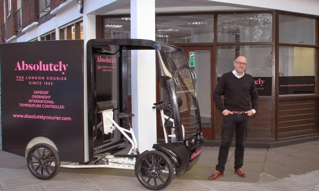 Absolutely launches London Eco Hub and expands fleet of electric cargo bikes