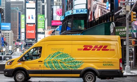 "DHL Express commits to ""clean pickup and delivery solutions"" in the U.S."