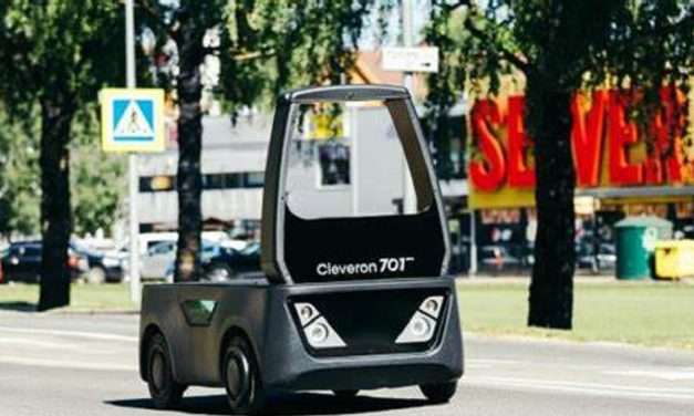 Cleveron's semi-autonomous vehicle to help retailers and logistics companies solve last mile delivery challenges