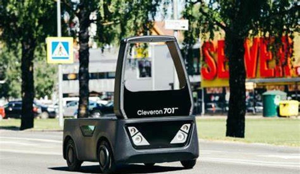 Cleveron's semi-autonomous vehicle to help retailers and logistics companies solve last mile delivery challenges