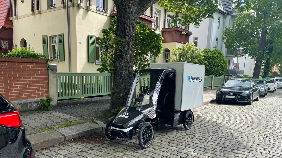 Hermes Germany: cargo bikes are simply a perfect addition to parcel delivery