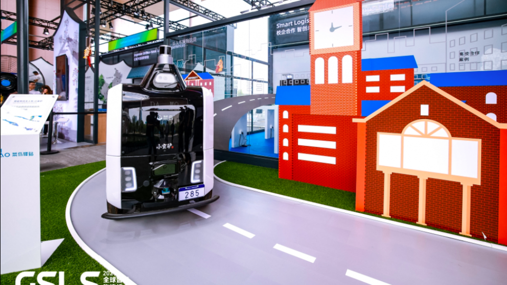 Alibaba set to roll out self-driving delivery trucks and robots