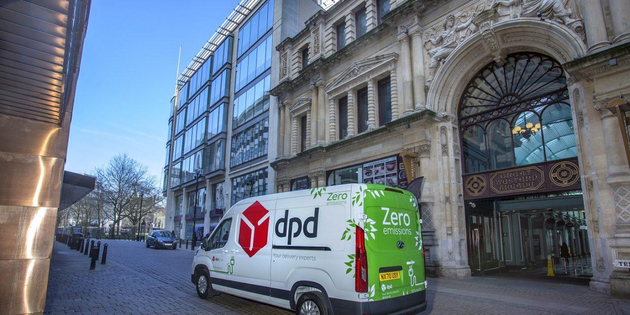 DPD doubles UK electric vehicle fleet