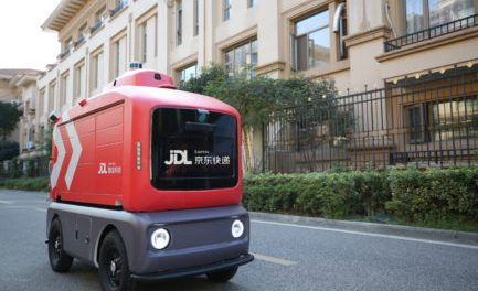 Delivery robots helping COVID-19 relief effort