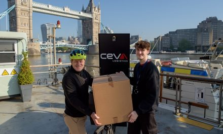 Riverboat trial aims to remove over 40,000 truck deliveries from London roads