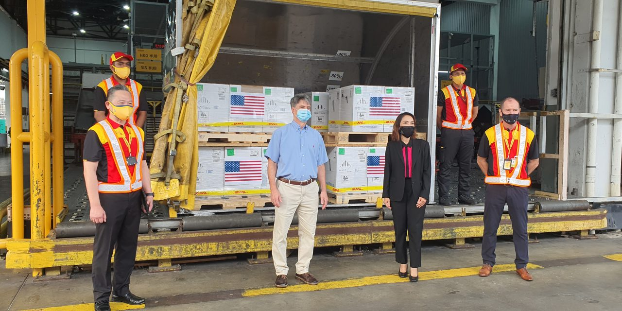 DHL transports more than 300 million doses of approved vaccines worldwide