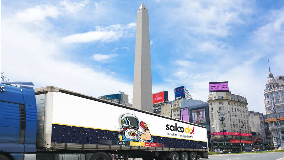 Saloodo!: We are proud how quickly we are able to expand our digital platform