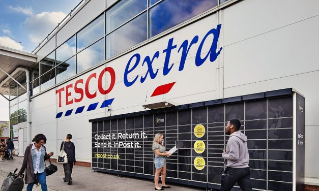 InPost to roll out up to 500 parcel machines in Tesco stores across the UK