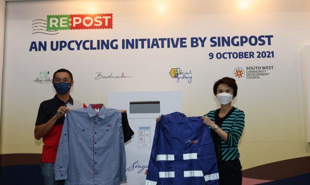 SingPost: transformation of old postmen uniforms spurs jobs and skill development